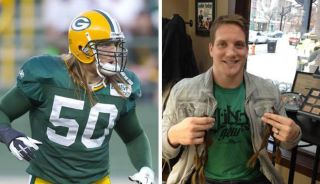 AJ Hawk - The before and after!
