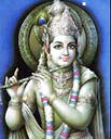 Picture Of Lord Krishna From Vrindavan India  - Picture of Lord Krishna From Vrindavan India