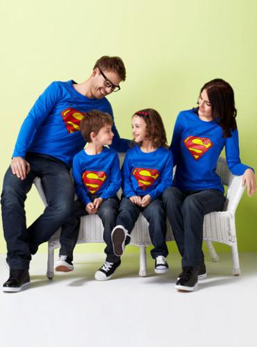 clothes - super-man look clothes
