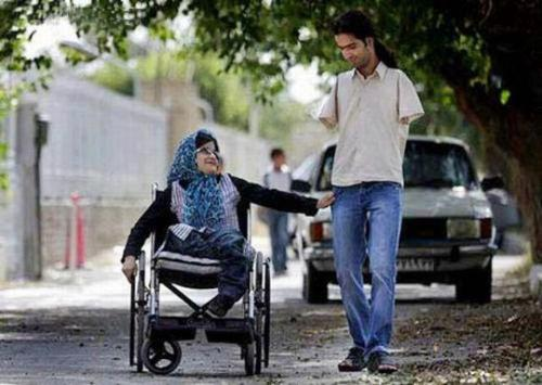 ahmad and fatima - this is ahmad and his wife fatima.they are both disabled but nothing can stop them from loving each other and have their own family.