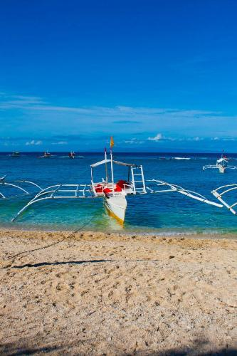 Beach in Bohol - This photo is taken at Balicasag Island by my friend's husband, Glenn Ramas. We had Island hopping and stopped over this island for a refreshing swim and snorkelling fun.
