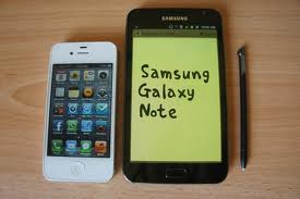 samsung galaxy note - the new product from samsung