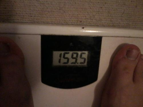 Progress feels good - This was my scale this morning, 5 days after posting my last discussion on this.