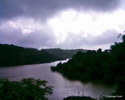 beautiful river on road side of Kokan Roads, Mahar - beautiful river on road side of Kokan Roads, Maharashtra, India