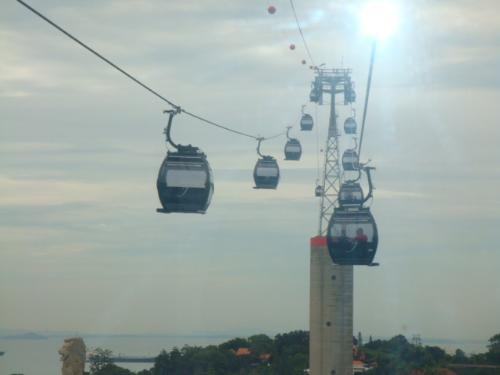 cable cars - this is a photo of cable cars in Singapore