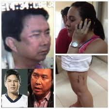 Tulfo-Santiago Brawl in NAIA 3 - A photo of what happened in the NAIA 3 brawl between Mon Tulfo and the Santiago family with friends.