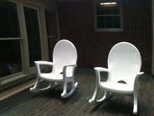 Our rocking chairs - These are our rocking chairs