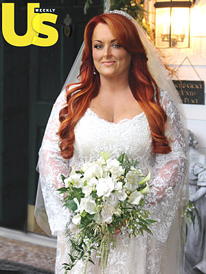 Wynonna Judd - It is on the cover of the newest US magazine.