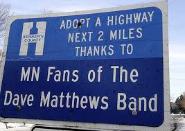 Minnesota Adopt A Highway Sign - Here is a sample of a state Adopt a Highway Sign.