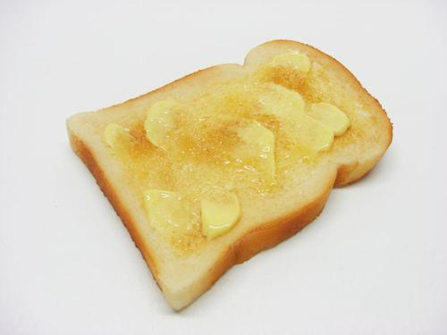 Buttered toast - Toast with lots of butter