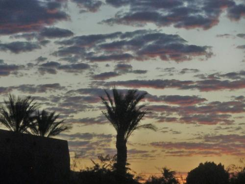 Arizona Sky - A photograph of the early morning Arizona sky