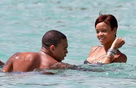 Rihanna and Chris Brown - Rihanna and Chris Brown on happier times together.