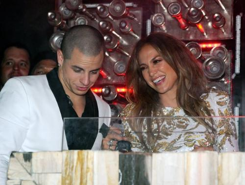 Jennifer Lopez and Casper Smart - A photo of couple Jennifer Lopez and Casper Smart.