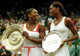 Serena and Venus Williams - The two formidable and legendary tennis players of all times.