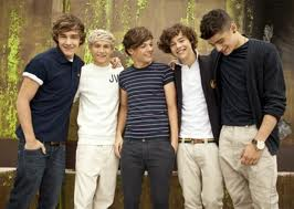 One Direction - Liam, Niall, Louis, Harry and Zayn