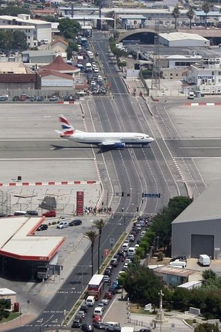 Gibraltar Airport - This is Gibraltar Air port is one of the most Extraordinary airports around the world.