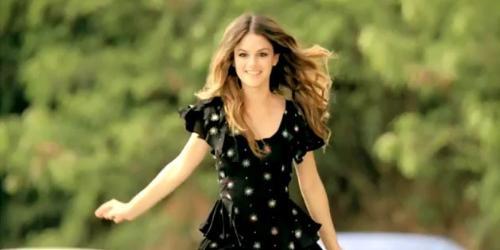 Rachel Bilson - Rachel Bilson in Magnum Ice Cream ad.