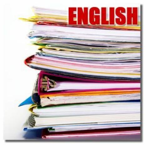 English - English book