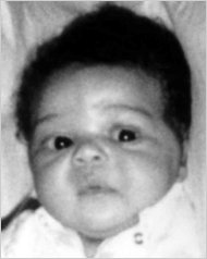 carlina white - picture of carlina white as a baby