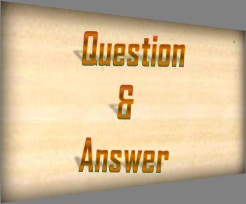 Question and Answer - This image was created by me to represent 'Question and Answer'.