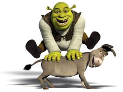 shrek and donkey - Shrek and Donkey are very funny.:)