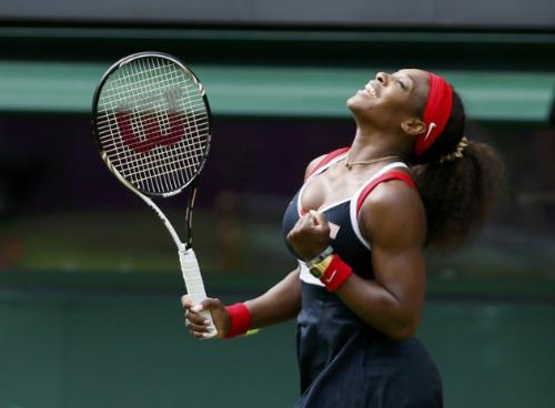 Serena Williams - Serena has a good change to win a gold in womam's tennis!