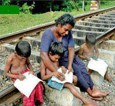 poor but proud - this woman wants to teach her kids