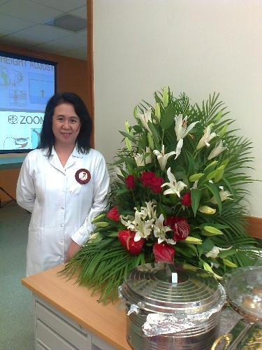 @ the Health Center - Taken during the Qatar Day, on December 18, 2012