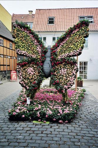 Flower festival - Flower festival in Odense, Denmark