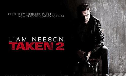 Taken 2 - Liam Neeson's Taken 2 premiering in October 2012.