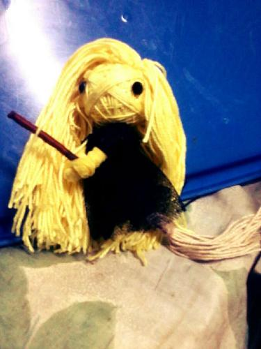 yellow witch voodoo string doll...........yellow w - yellow witch voodoo string doll............