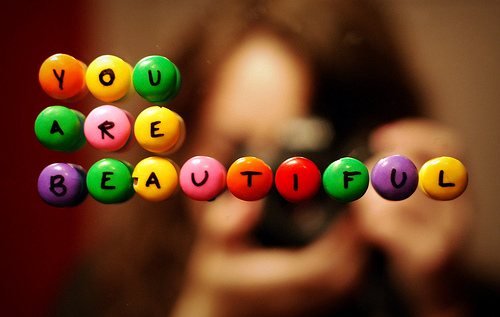 beautiful - Gifted with beauty or not, you can still be beautiful.
