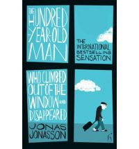 book - the hundred year old man who climbed out of the window and disappeared.