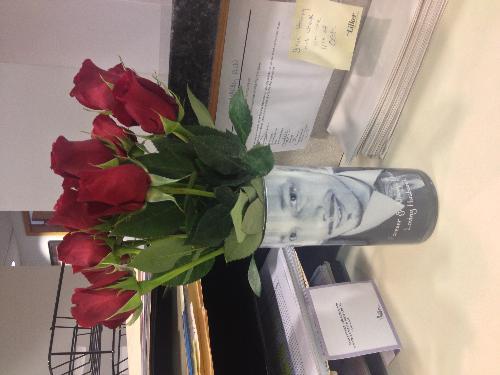 Flower - flowers my husband sent to my job