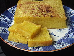 bika ambon - the special cake from Medan