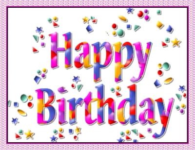Happy Birthday - Happy Birthday confetti