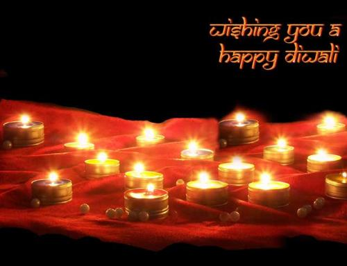 Happy Diwali - one of the best festival ever. I love it vary much.