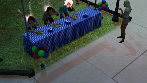 sims 3 summer - sims 3 summer eating contest