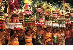 bali - this is an image of ritual ceremony in bali.. There are alot of ritual in bali.