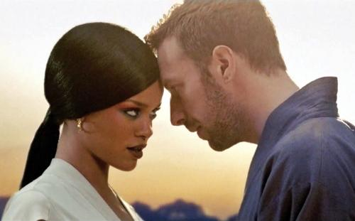 Rihanna & coldplay - Rihanna & coldplay in Princess of China