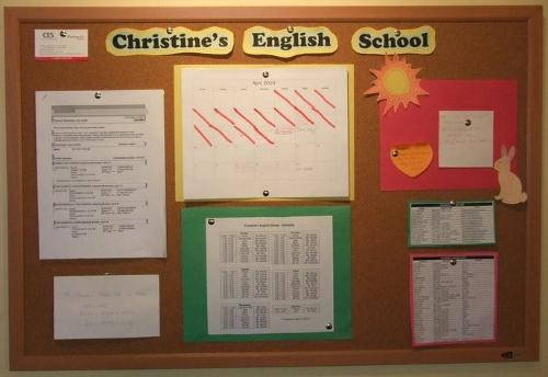 Christine's English School - Christine's English School is a Guam-based educational institute. If you'd like to find out more information, you can visit us on Facebook. Just search Christine's English School, and feel free to like the page and even share.