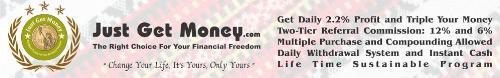 just get money logo - Just Get Money logo, a program patterned after JBP/PC