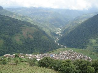 Real Heaven On Earth -  Its is small village in Nepal, surrounded with trees, mountain and nature.
