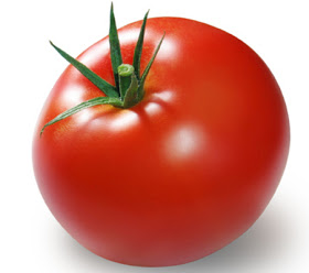 tomato - Tomato contains vitamins which is good in our body. Good for makin a salad. It's tasty