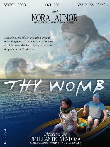 thy womb poster - thy womb nora aunor