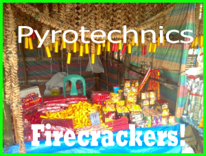 Pyrotechnics and Firecrackers - pyrotechnics and firecrackers are best noisemakers to make new year revelry more enjoyable and entertaining.