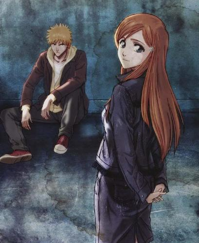 love apart - boy and girl from bleach