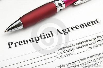 Prenup - Prenup agreement...