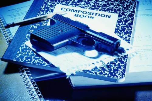 Guns in Schools  - Should guns be allowed in schools to offer protection for our children by school staff?