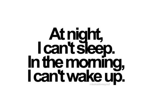 exercise - exercise to sleep or to wake up